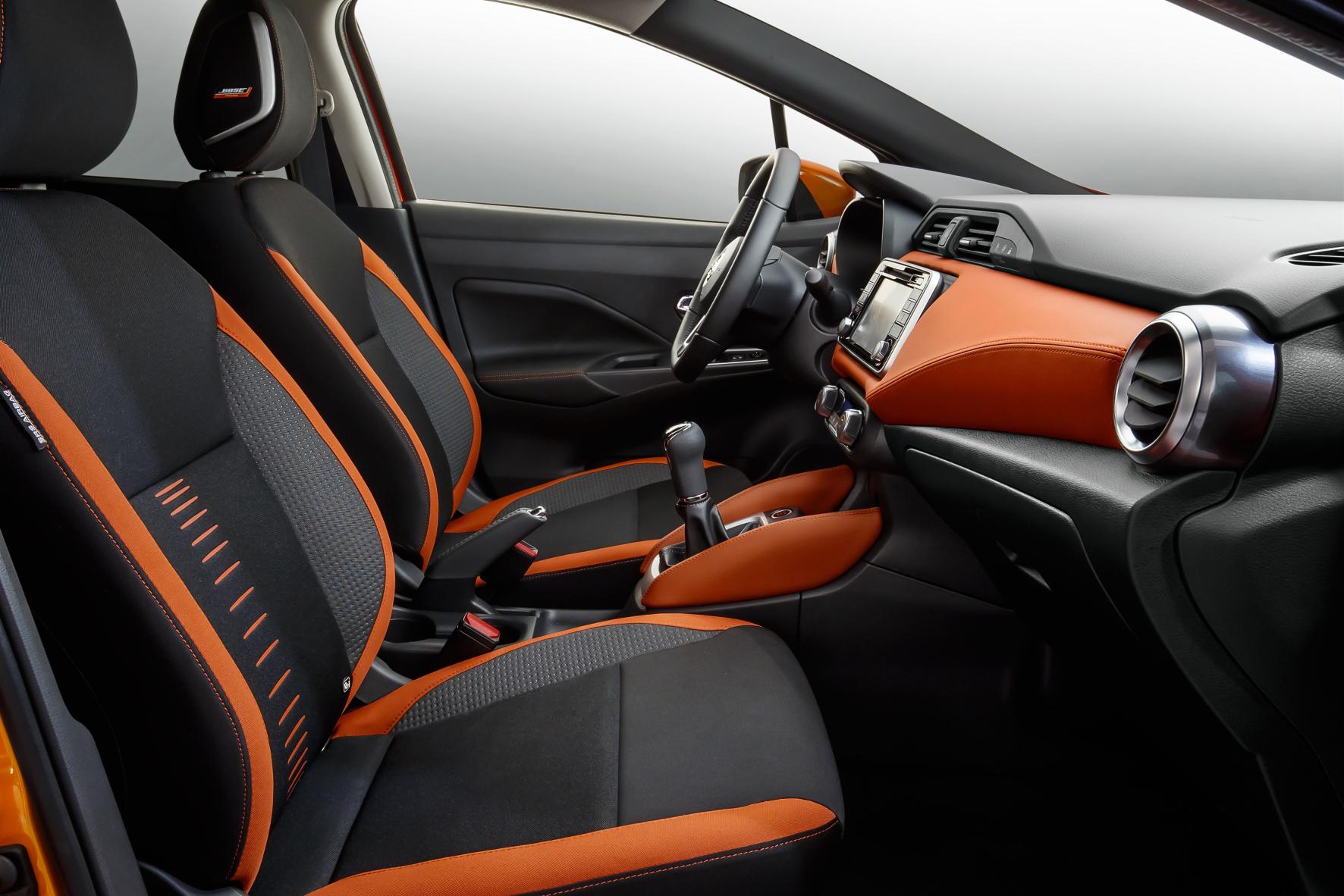 Paris - Tiefere Sitzposition: Der neue Nissan Micra macht auch beim Innenraumdesign einen Quantensprung.