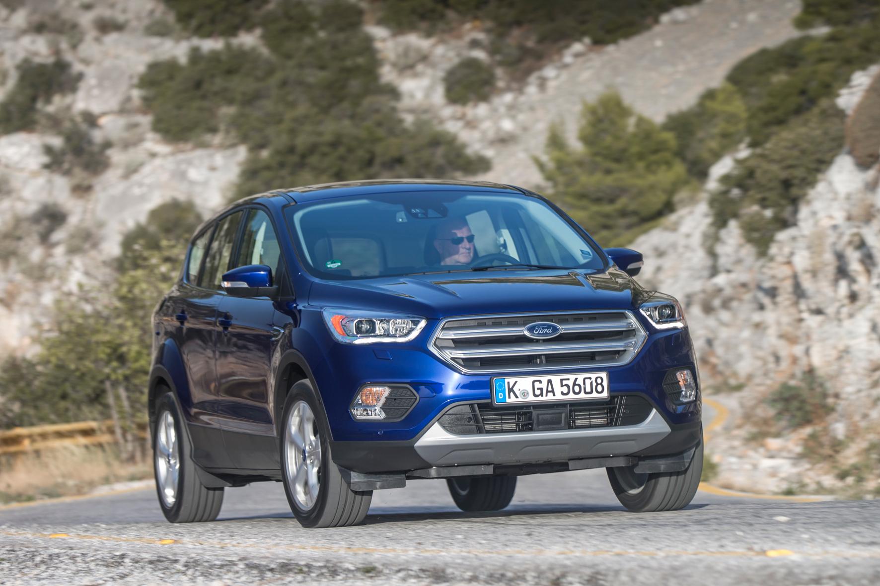 mid Athen - Neues Gesicht, aufgefrischte Technik und neue Varianten: der neue Ford Kuga.