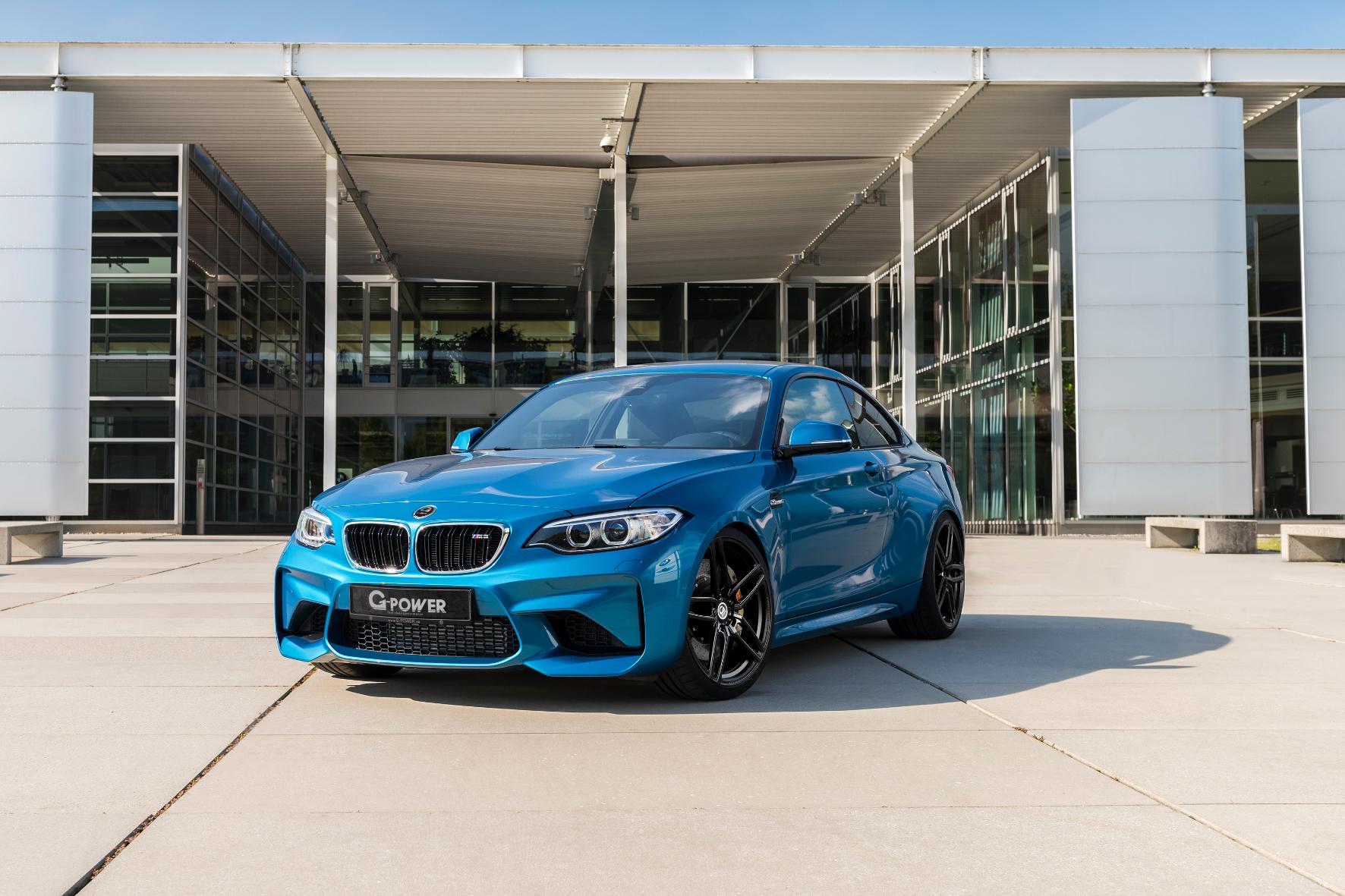 mid Groß-Gerau - Tuner G-Power verpasst dem BMW M2 eine Leistungsspritze auf 410 PS und 570 Newtonmeter maximales Drehmoment.
