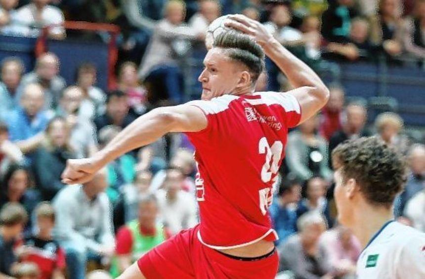 Nach der Pause zeigte HG-Torjäger Daniel Hideg den entscheidenden Zug zum Tor und war mit seinen ...