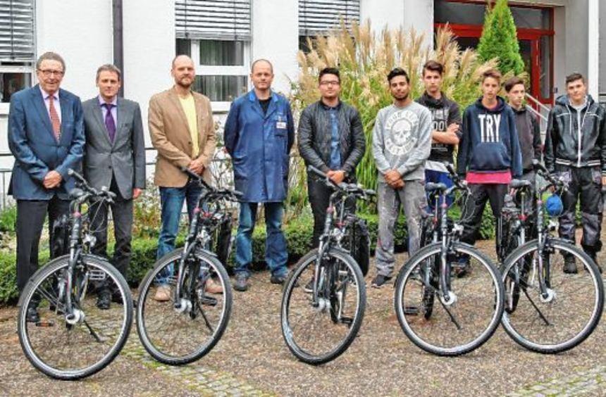 Die Bürgerstiftung für die Region Mosbach unterstützte gemeinsam mit der Volksbank Mosbach das ...