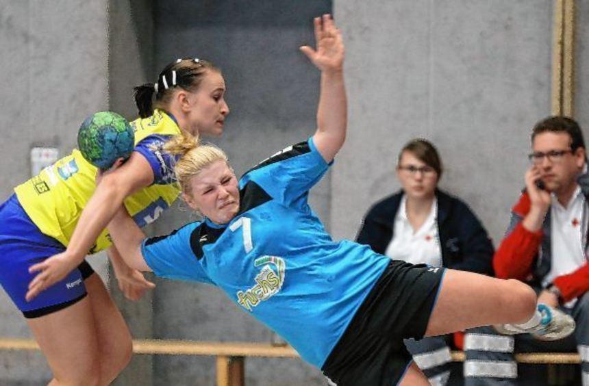 Kaum zu bremsen: Anja Gross und ihre Teamkolleginnen ließen Pforzheim/Eutingen keine Chance.