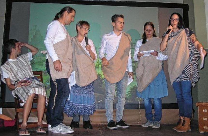 Mit einem Musical wurde in Kembach die Geschichte des biblischen Propheten Jona nachgezeichnet.