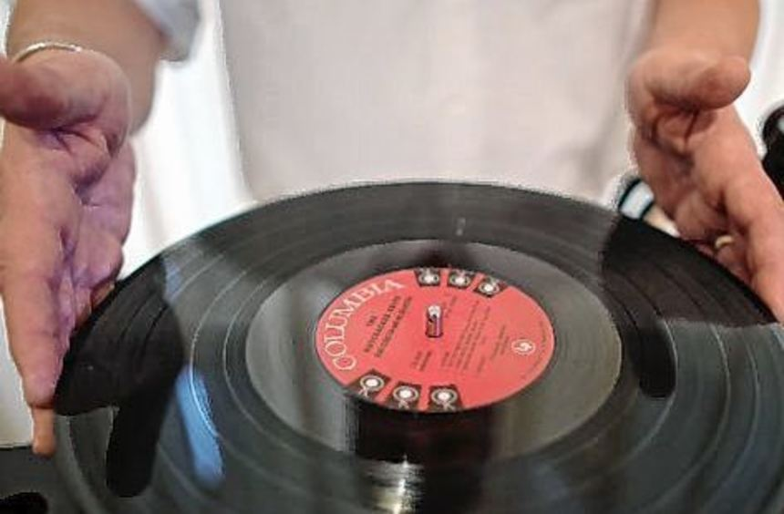 50 Prozent mehr Platten als im Vorjahr wurden in diesem Jahr verkauft.