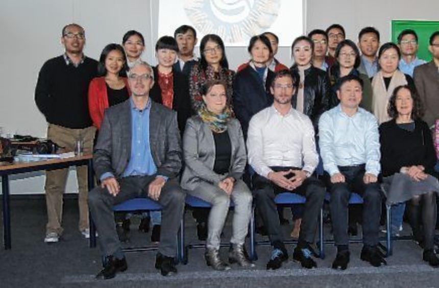 Eine Delegation der Beijing Acadamy of Educational Sciences war zu Besuch in der ...
