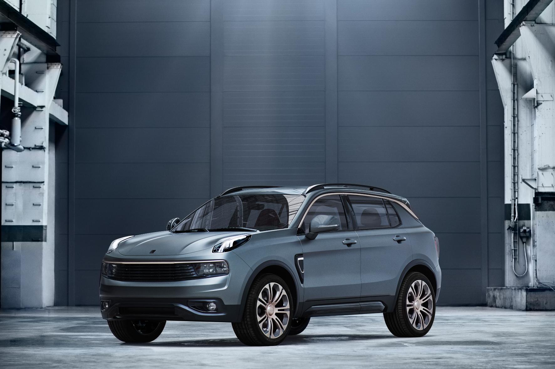 mid Göteborg - Mittel-Format: Das SUV von Lync & Co rollt mit Volvo-Technik im nächsten Jahr auf den chinesischen Markt. Und 2018 vermutlich auch auf unseren.