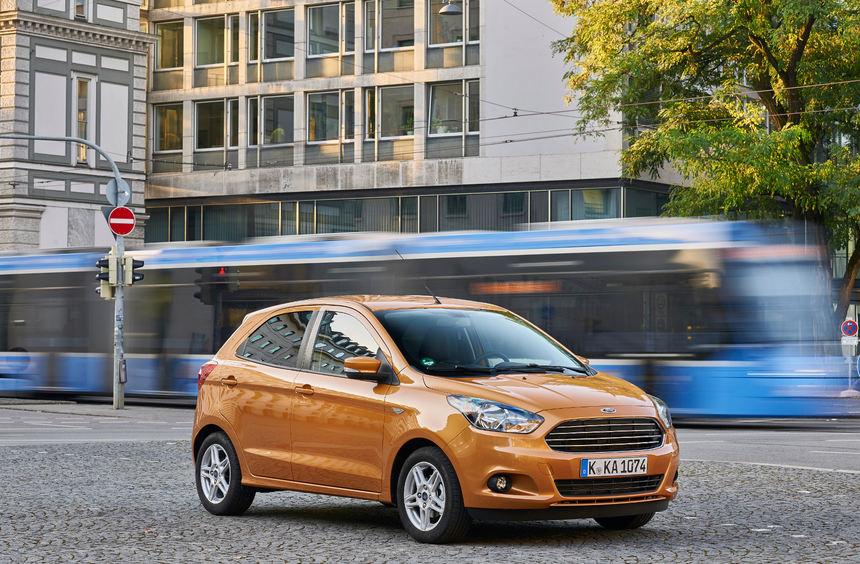 mid Engelskirchen - Pfiffiger Kleistwagen: Der neue Ka+ von Ford ist 30 Zentimeter länger als sein ...