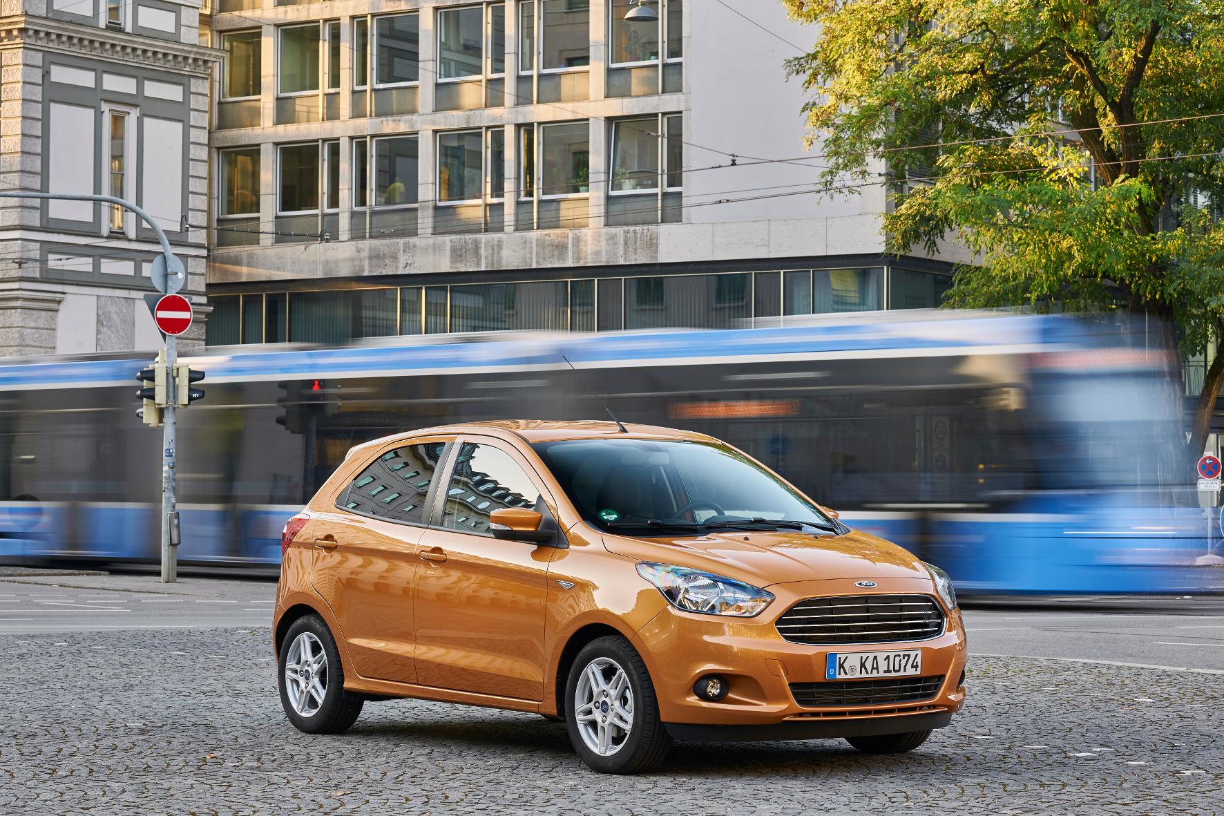 mid Engelskirchen - Pfiffiger Kleistwagen: Der neue Ka+ von Ford ist 30 Zentimeter länger als sein Vorgänger.