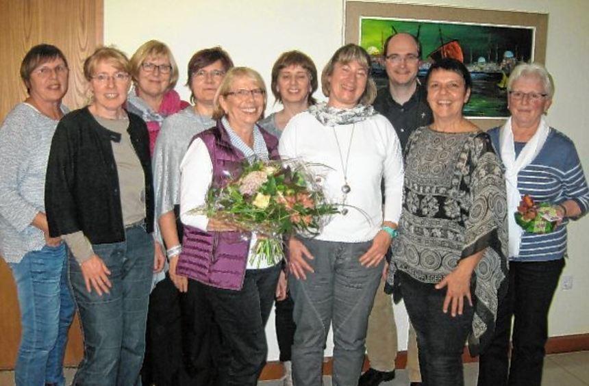 Bei der Jahreshauptversammlung der Frauengemeinschaft Oberlaude wurde ein neues Führungsteam ...