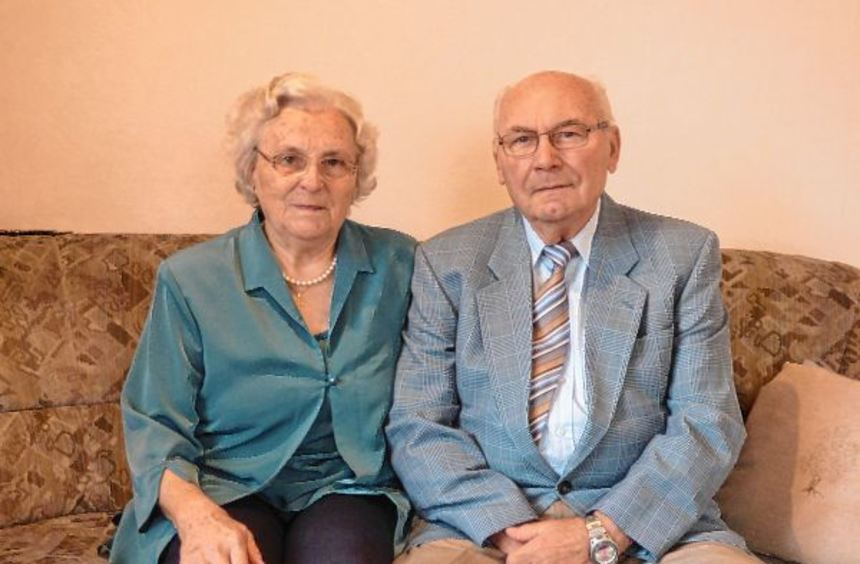 Vor 60 Jahren gaben sich Rosa und Berthold Wolf das Ja-Wort. In den vielen Ehejahren verband sie ...