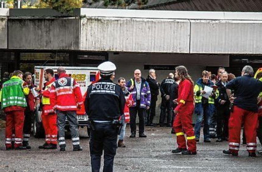 41 Schüler waren bei dem Gasaustritt in Heilbronn verletzt worden.