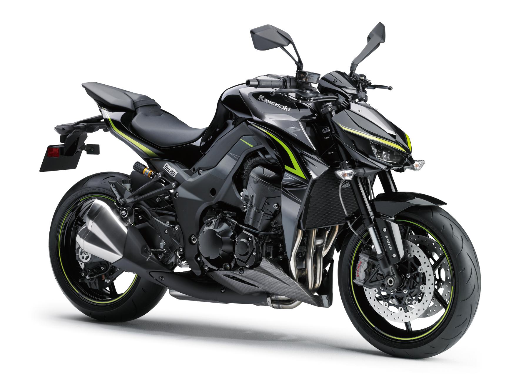 mid Groß-Gerau - Ziemlich nackt und mit bösem Blick: Die Kawasaki Z1000 als aufgewertete R Edition.