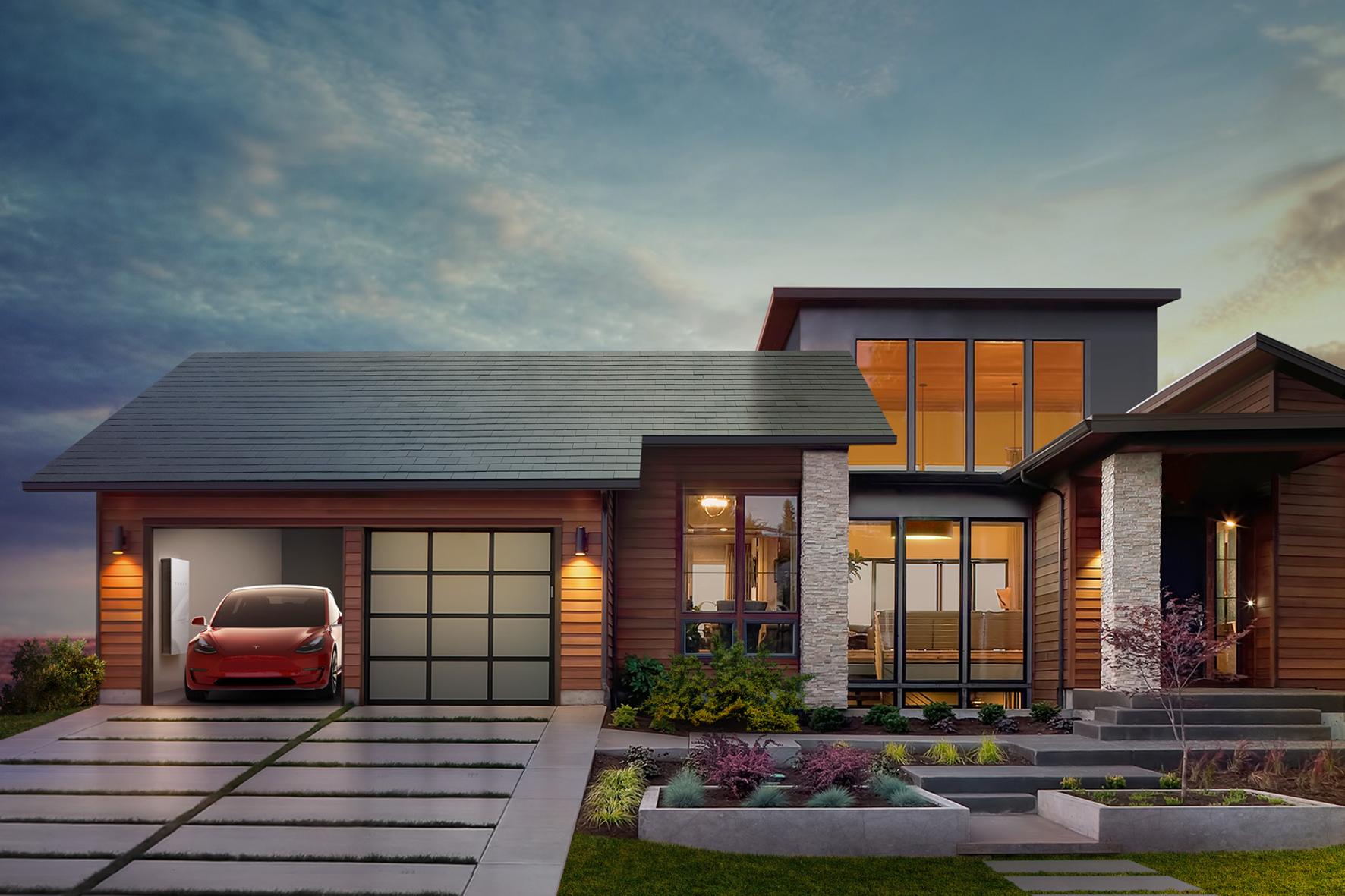 mid Groß-Gerau - Elektroauto mit Schnell-Lader in der heimischen Garage und Solartechnik für die nötige Energie auf dem Dach: So stellt sich Tesla-Chef Elon Musk die ganzheitliche Mobilität von Morgen vor.