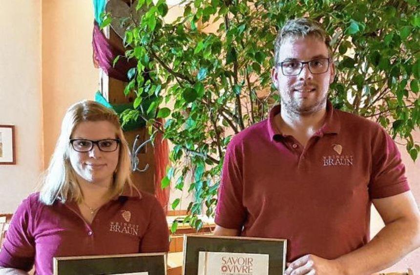 Sehen in den Auszeichnungen eine Bestätigung ihrer engagierten Arbeit: Madlen und Jonas Braun.