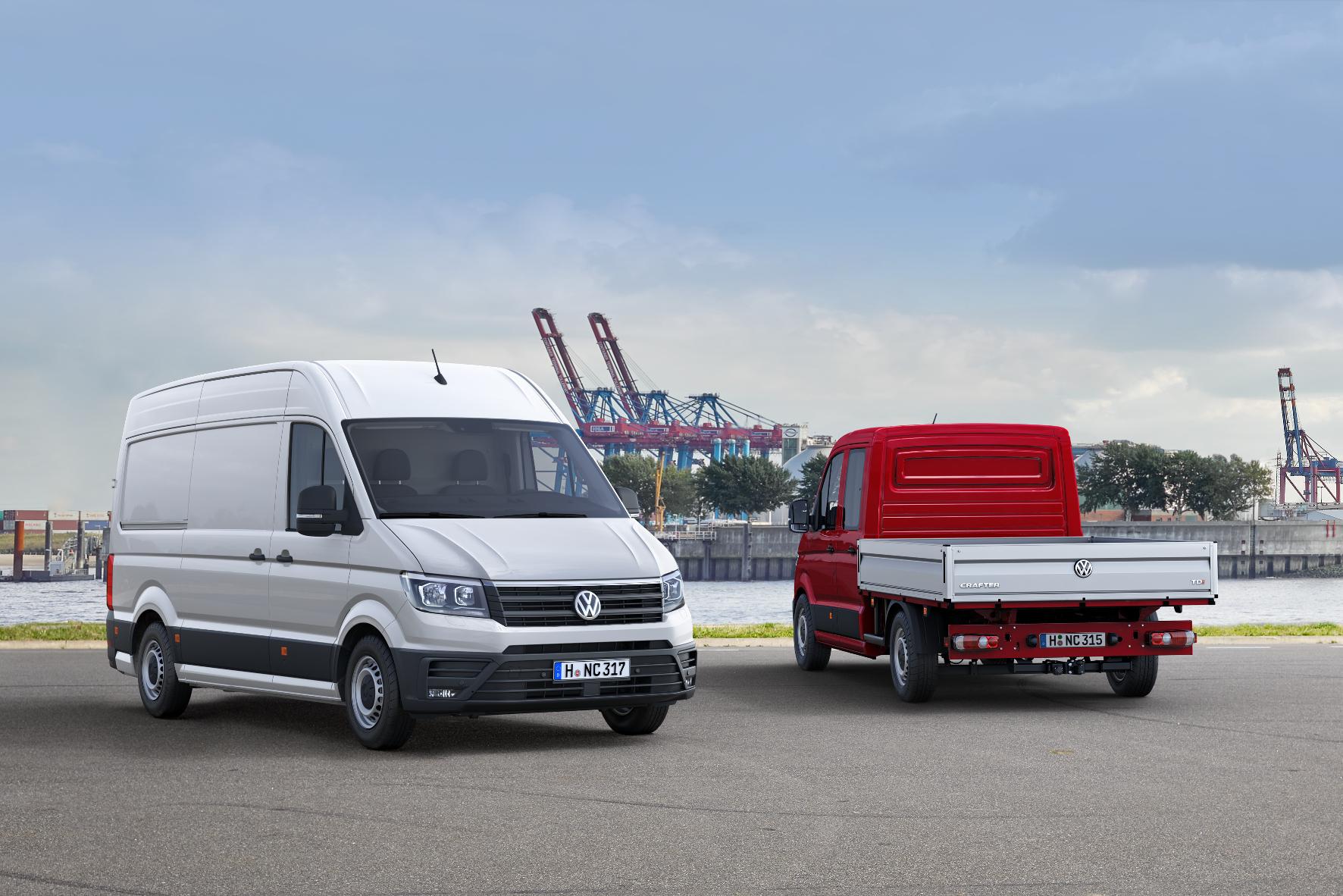 mid Almeria - In jedem Hafen zu Hause: der neue VW Crafter.