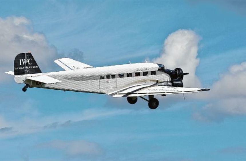 Ein Publikumsmagnet: der fliegende Oldtimer JU 52.