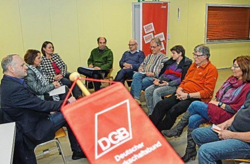 Der DGB-Ortsverband Bensheim traf sich zu seiner Hauptversammlung in Fehlheim. Im Mittelpunk stand ...