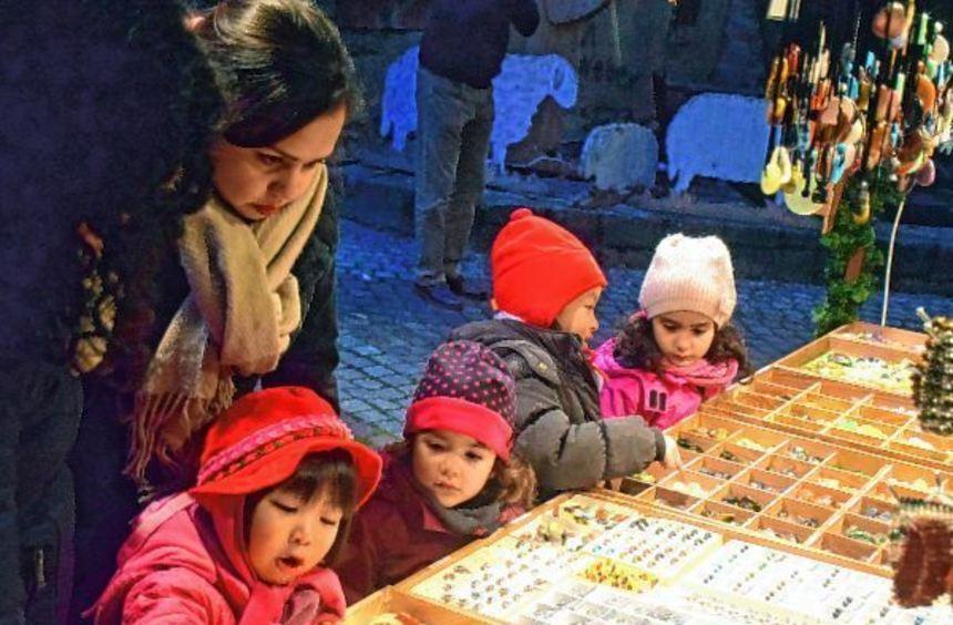 Der traditionelle Creglinger Weihnachtsmarkt ging mit großem Besucherandrang zu Ende.