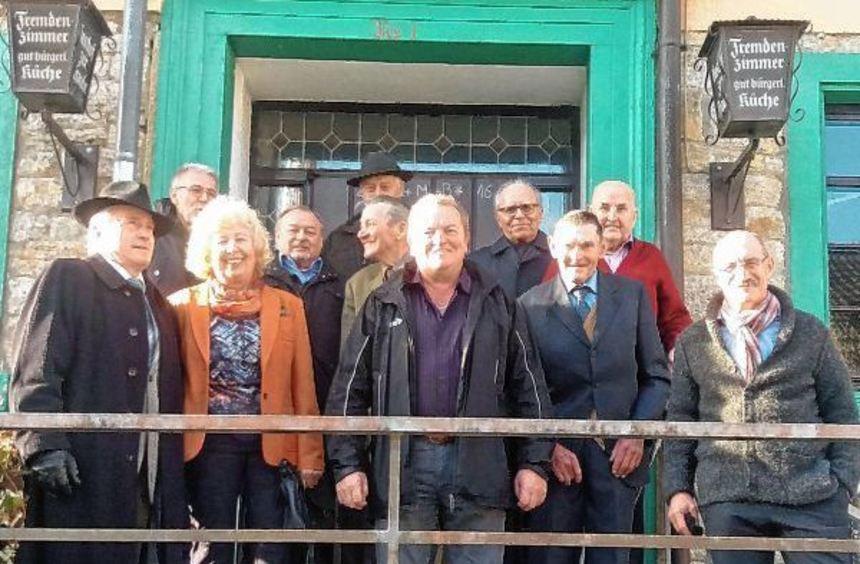 Das traditionelle Albertstreffen fand in Laudenbach statt. Seit 30 Jahren wird diese Zusammenkunft ...