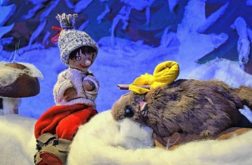 Der Siebenschläfer sucht dringend eine Höhle für den Winterschlaf. Ob ihm Winterwichtel Winni wohl ...