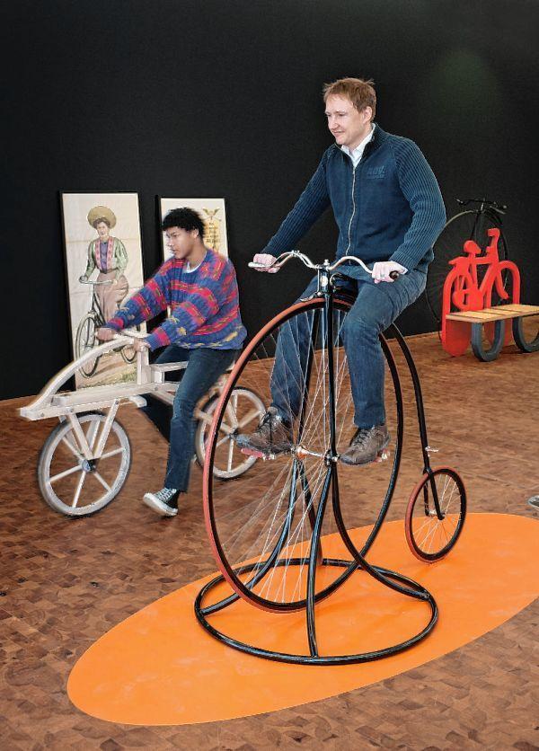 von fahrrad erfinder karl drais mannheim stadt mannheim morgenweb. Black Bedroom Furniture Sets. Home Design Ideas