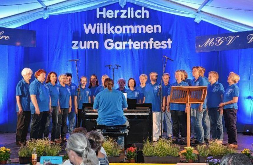 Der Frauenchor geht voller Vorfreude in das Jubiläumsjahr.