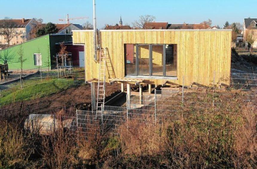 Setzt mit seiner Holzfassade nicht nur optisch einen neuen Reiz: Der Erweiterungsbau des ...