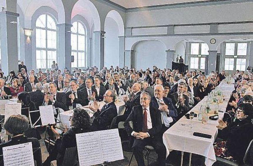 Höhepunkt des Jubiläumsjahres: der Festakt am 12. März im Seckenheimer Schloss, an dem auch ...