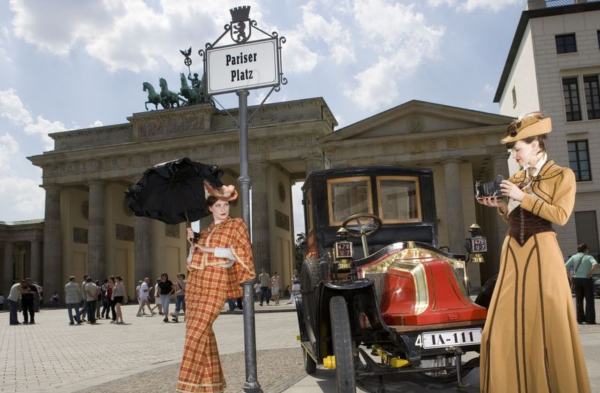 """mid Groß-Gerau - Zeitreise: Vor 110 Jahren wurde in Berlin mit der """"Renault Frères Automobil ..."""
