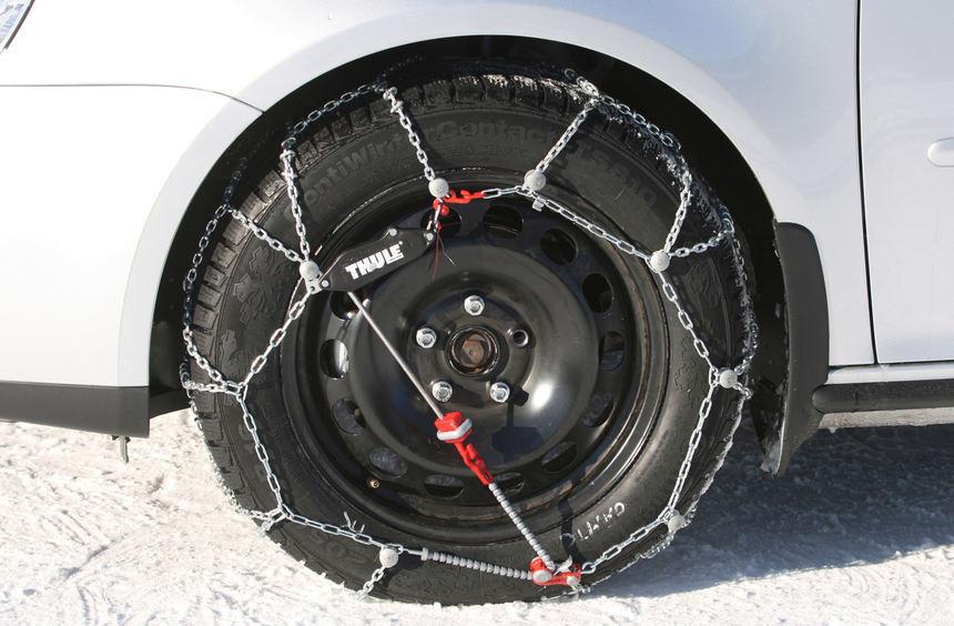 mid Groß-Gerau - Schneeketten sollen bei Fahrzeugen mit indirekter Reifendruck-Kontrolle falsche ...