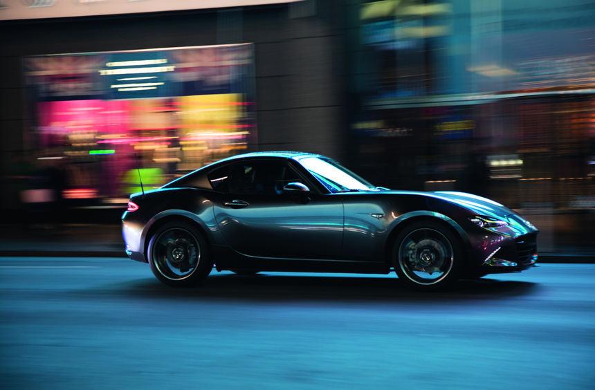 mid Groß-Gerau - Die Roadster-Ikone Mazda MX-5 steht im Mittelpunkt einer neuen Kampagne.