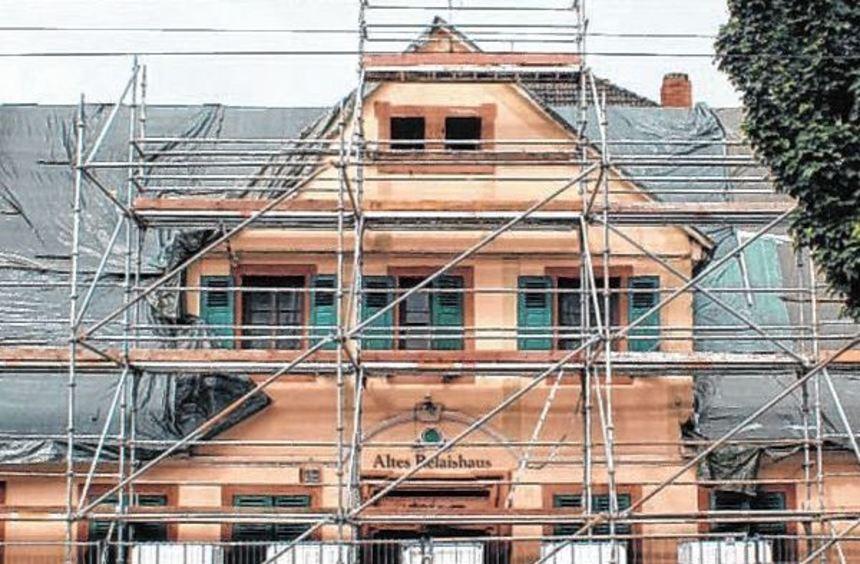 Wie geht es weiter mit dem Relaishaus - eine der Fragen in Rheinau 2017.