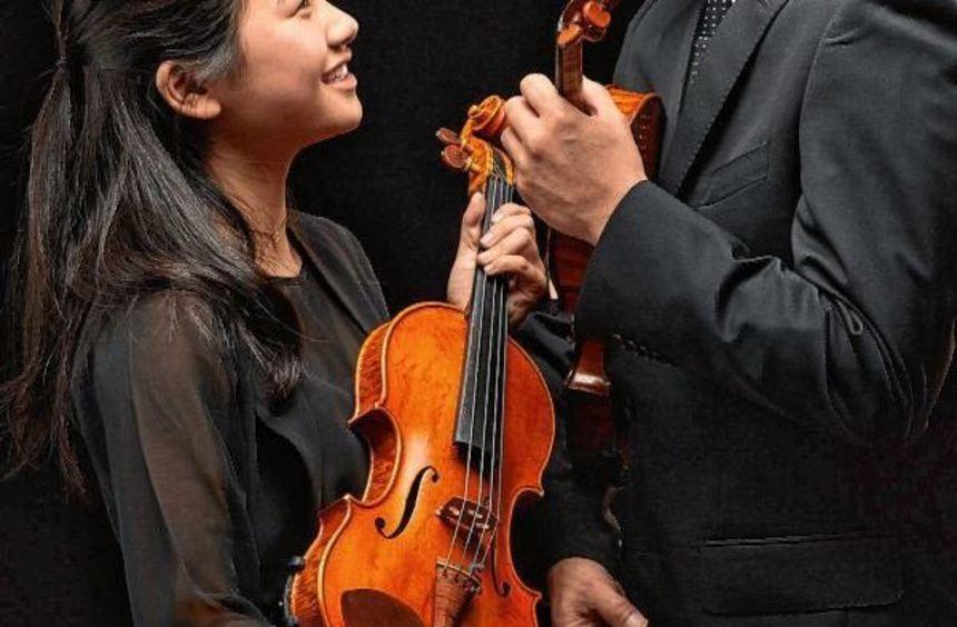 Yasushi Ideue und seine Tochter Huka sind als Solisten mit dabei.