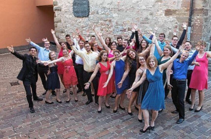 """Mit dem Programm """"Chormusik crossover - Vom Volkslied zum Pop"""" gastiert der Badische ..."""
