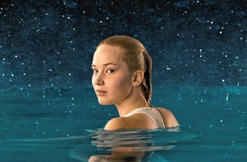 "Jennifer Lawrence in ""Passengers""."
