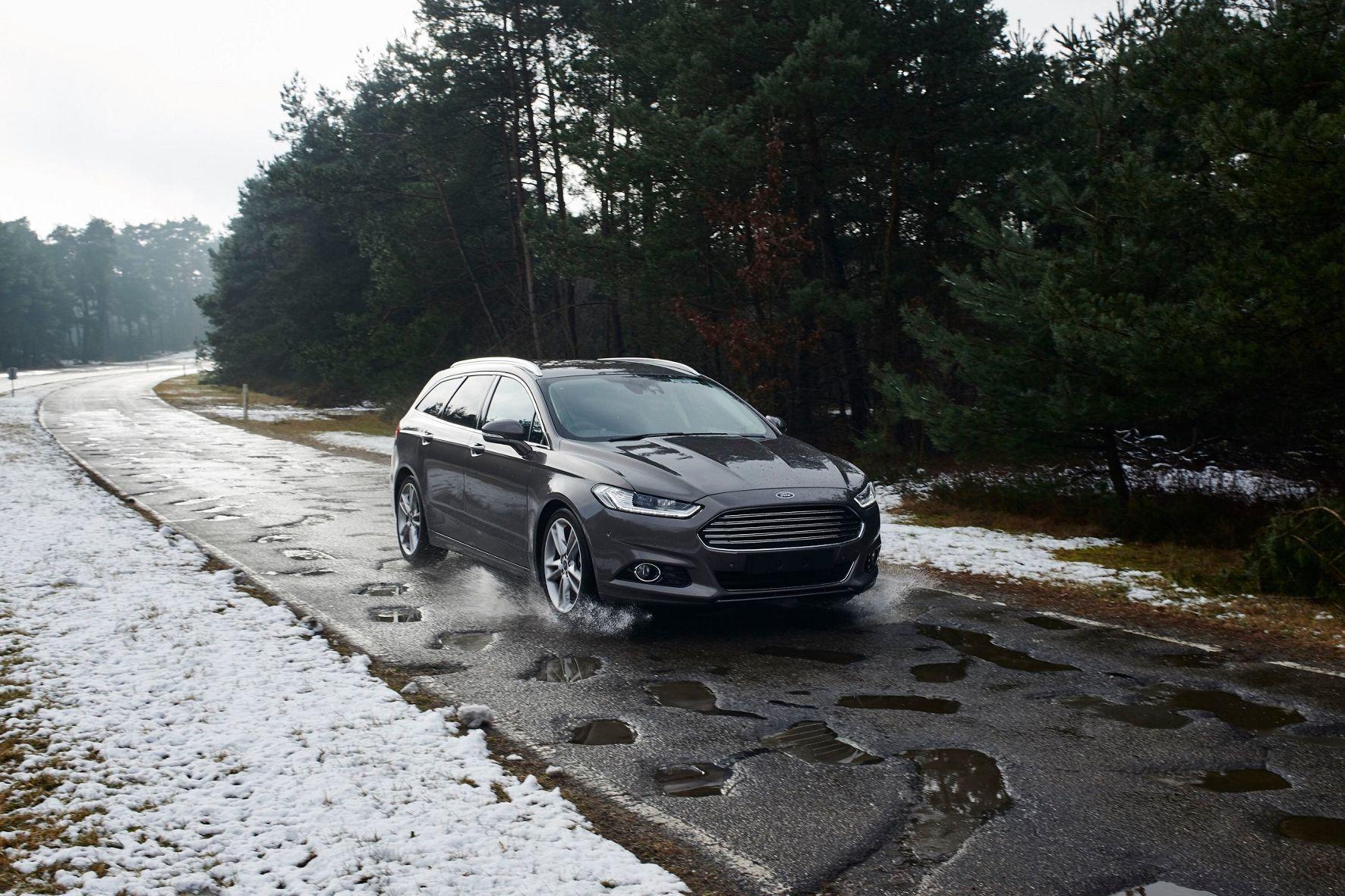 mid Groß-Gerau - Ford widmet sich dem leidigen Thema Schlaglöcher und forscht an einem Assistenzsystem, das Autofahrer warnt.