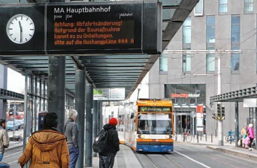 Durch eine Software-Aktualisierung ist das Betriebsleitsystem der Rhein-Neckar-Verkehrsgesellschaft ...