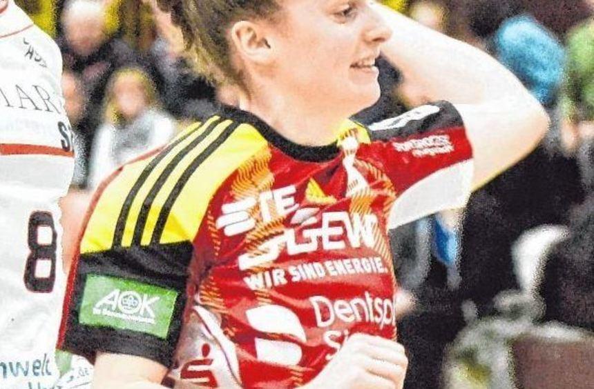 """Die """"jungen Wilden"""" der Flames wie Julia Maidhof (Foto) ließen beim TSV Haunstetten nichts ..."""