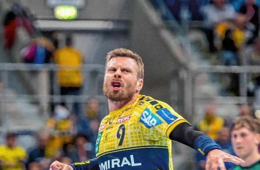 Gudjon Valur Sigurdsson schwang sich zum Anführer auf und erzielte elf Treffer für die Rhein-Neckar ...