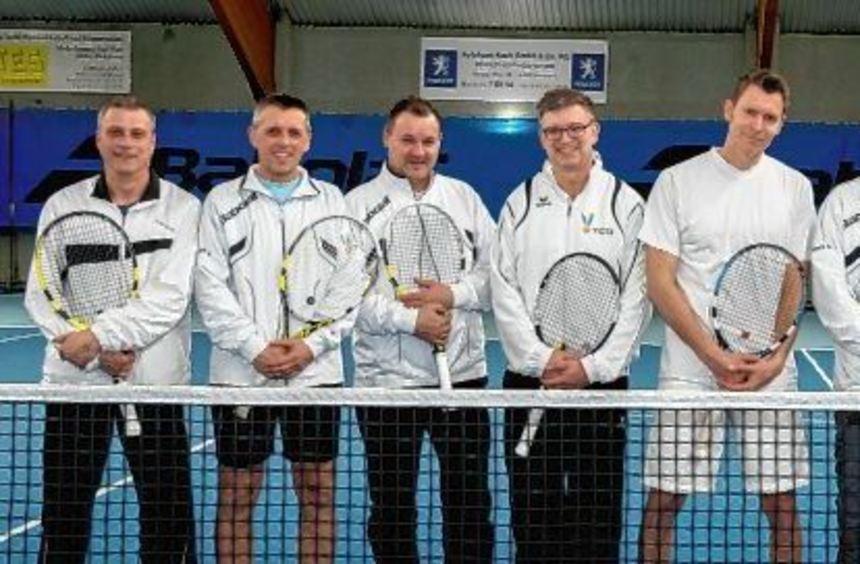 """Das Tennis-Team Herren 40 ist nominiert für die Wahl zur Lorscher """"Mannschaft des Jahres"""". Unser ..."""