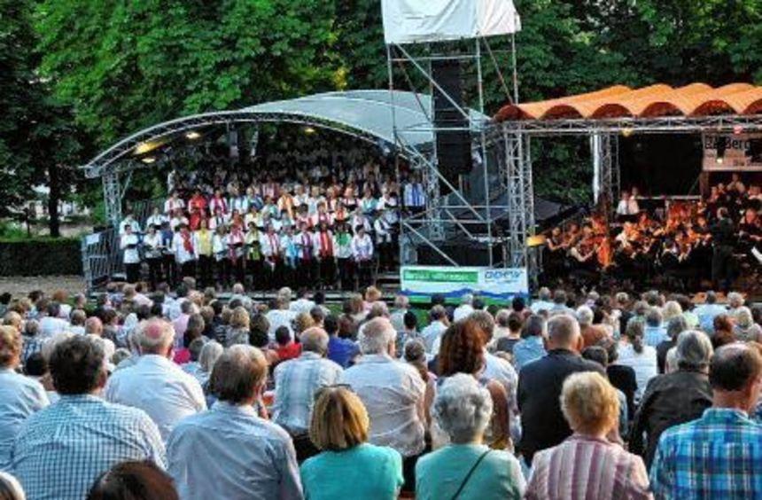 Das Foto entstand beim OpernAir 2014 im Bensheimer Stadtpark. Anlass für die Veranstaltung war der ...