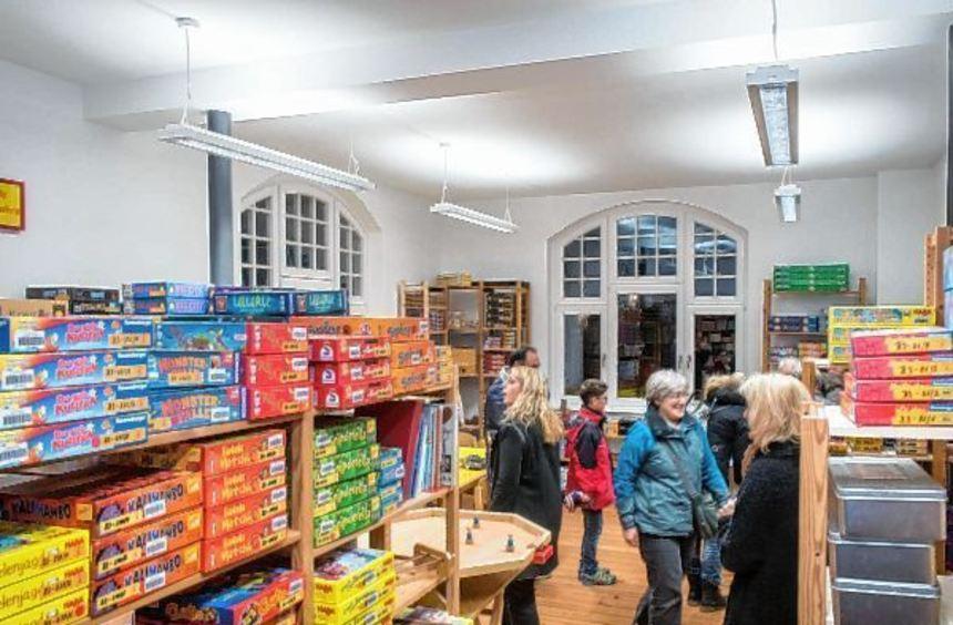 Die Spielerei Bergstraße hat ihr neues Domizil im Obergeschoss des Alten Rathauses am Zwingenberger ...
