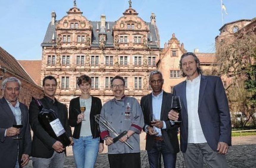 Sie wollen mit dem ersten Gourmetfestival der Jeunes Restaurateurs auf dem Heidelberger Schloss ...
