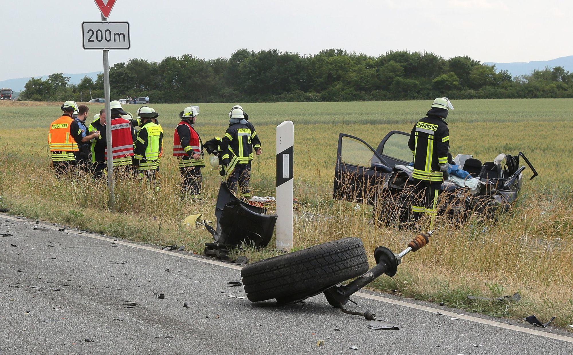 Unfall B44 Heute