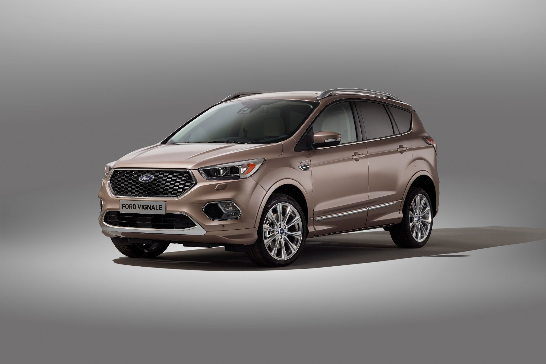 mid Groß-Gerau - Den Anfang 2017 startenden, neuen Kuga legt Ford auch als Luxus-Variante Vignale auf.