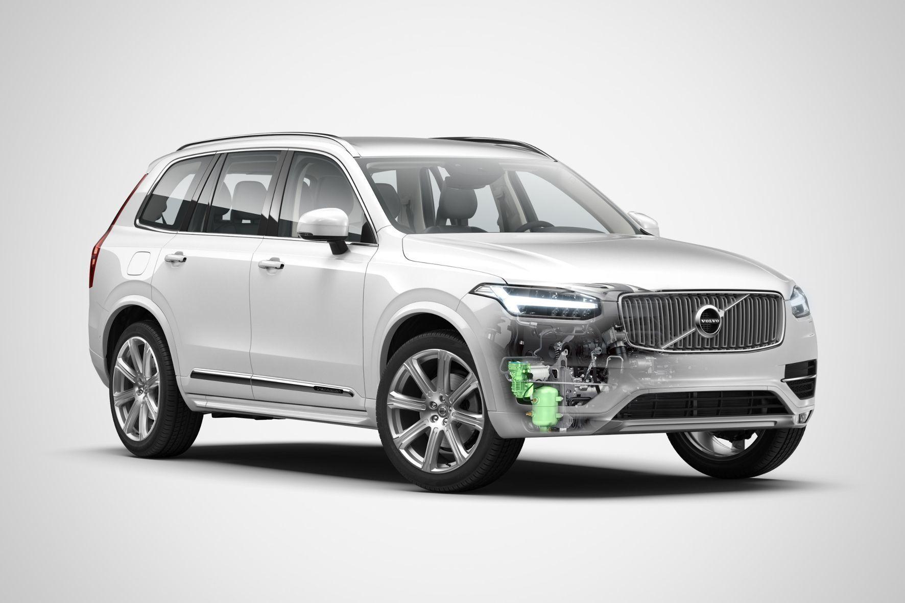 mid Groß-Gerau - Volvo bringt die Dieselvarianten seiner 90er-Modellreihe mithilfe von Druckluft in Schwung.