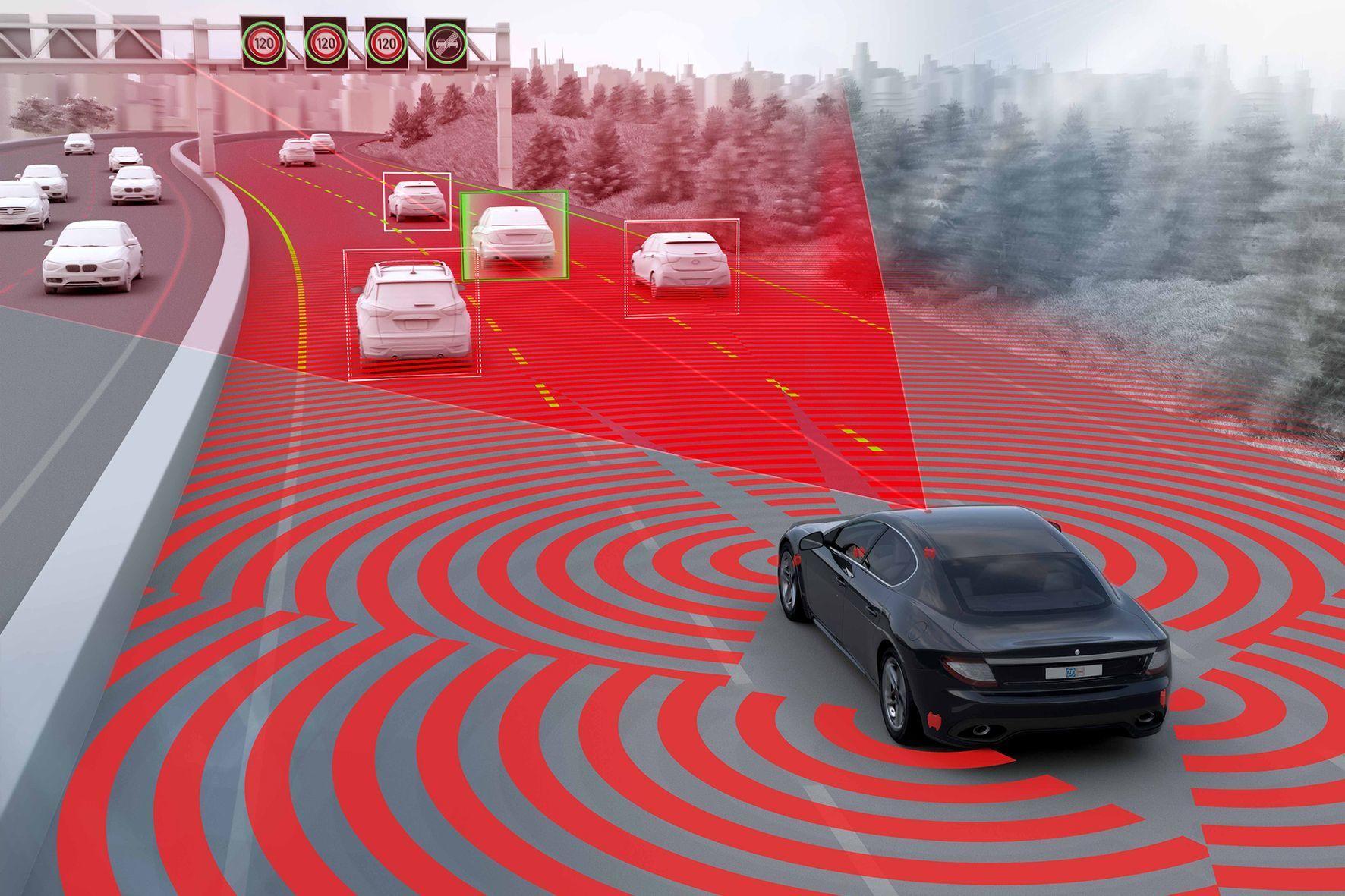 mid Friedrichshafen - Zulieferer machen Autos fit für die Zukunft: Zu den wichtigsten Komponenten zählen Sensoren, Steuergeräte und Aktuatoren, die nicht nur für mehr Sicherheit sorgen, sondern auch die Basis für das automatisierte Fahren sind.