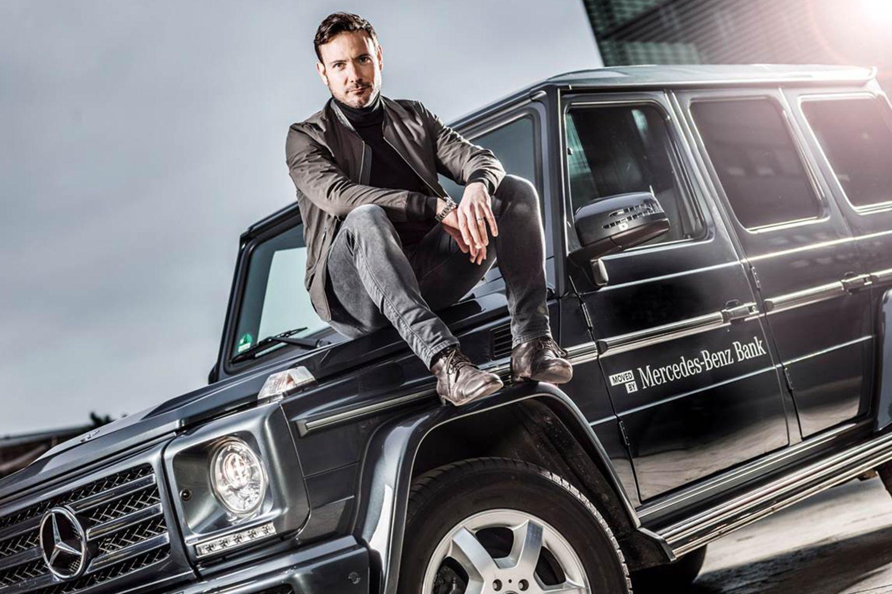 mid Groß-Gerau - Gemeinsam wollen Eric Gauthier und die Mercedes-Benz Bank Menschen bewegen und begeistern.