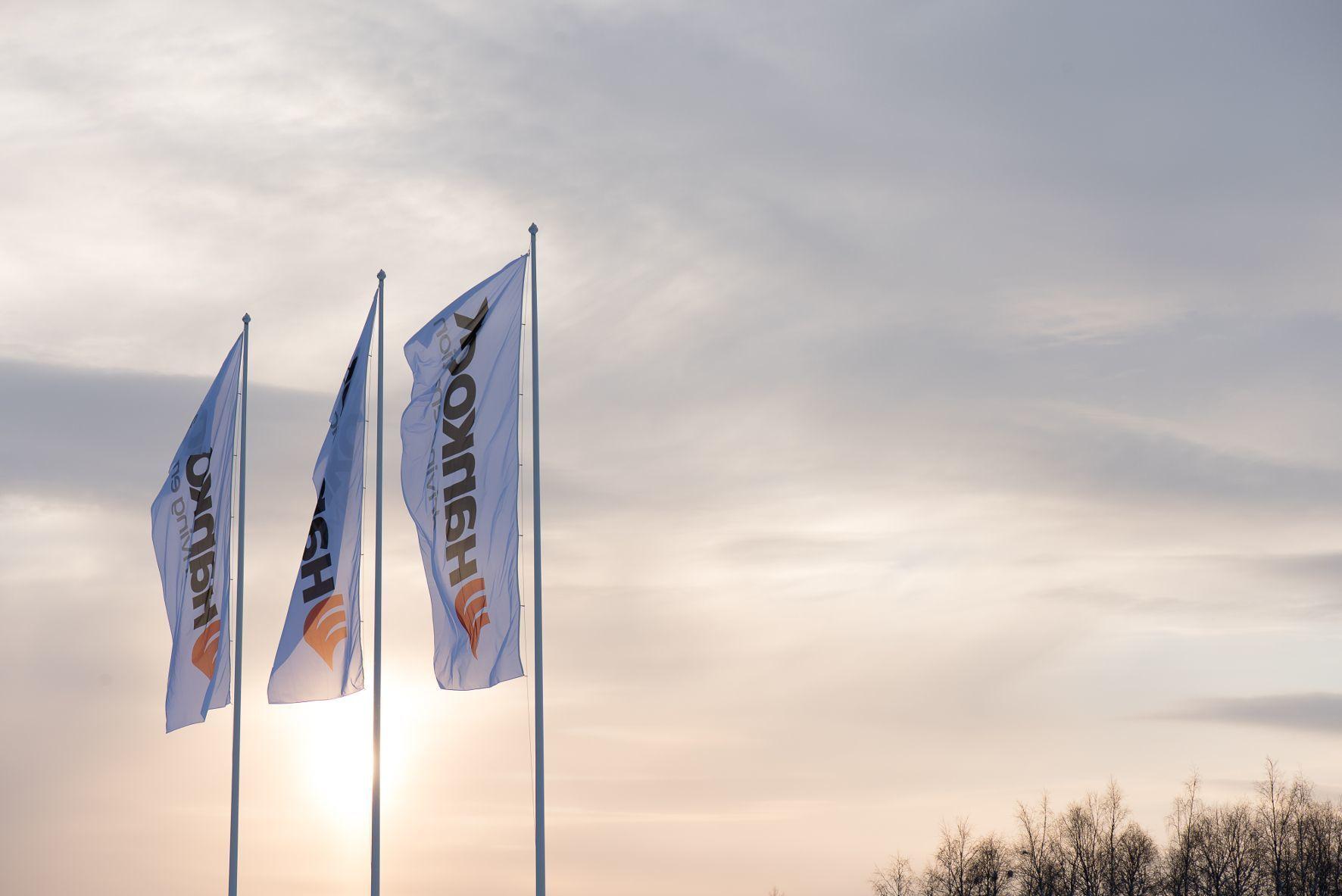mid Ivalo - Hankook hisst die Flaggen nahe des Polarkreises: Der Reifenhersteller eröffnet in Lappland ein Testzentrum.