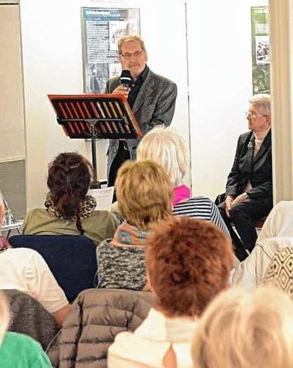 Elmar Ullrich und seine Mitstreiter lasen nur jüdische Gedichte.